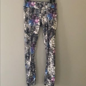 Pattern workout leggings (thick)